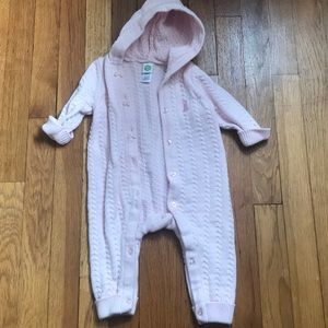 Little Me 6 month hooded sweater bodysuit